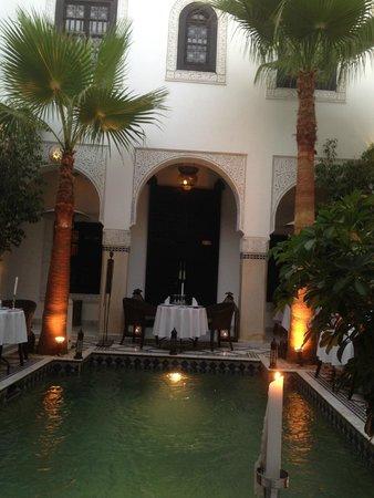 Restaurant Riad Monceau: riad Monceau