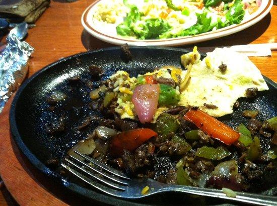 K-BOB'S Steakhouse : Couldn't even eat it!! Gross