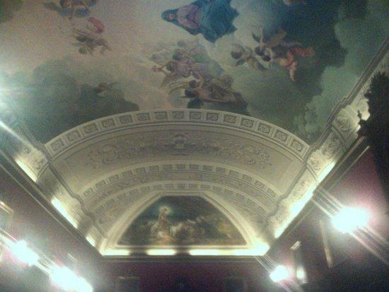 Real Basilica de San Francisco el Grande : потолок в личных комнатах
