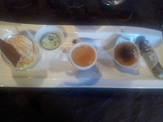 Auberge de Kerhinet : café gourmand