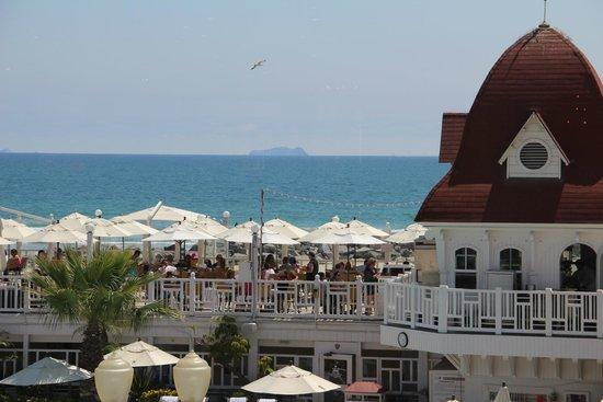 Hotel del Coronado: View from the Grand Ballroom