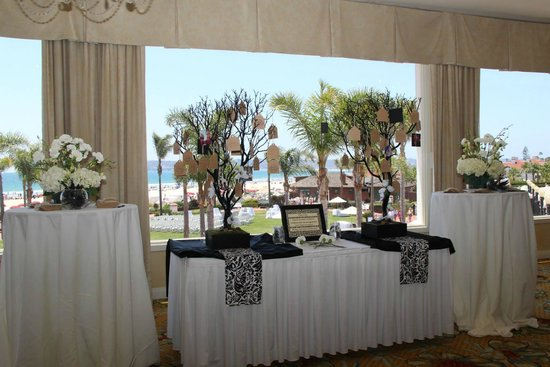 Hotel del Coronado: At the reception in the Grand Ballroom