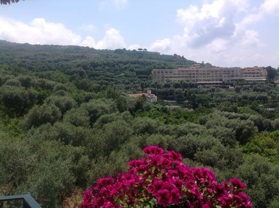 Hotel La Badia : view of hillside (hotel nido)
