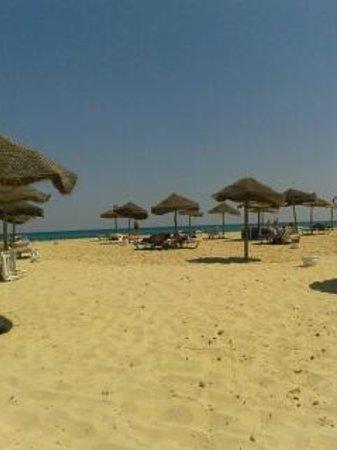 Club Eldorador Salammbo : het zicht vanop de strandstoel