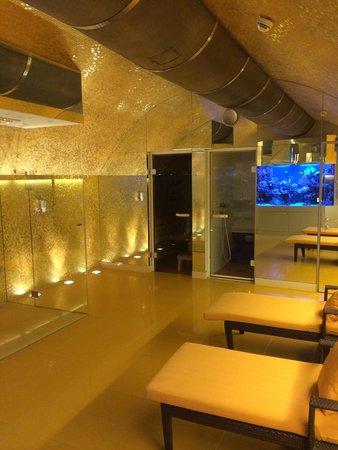 Hotel Das Tyrol: Sauna and steam room on lower level