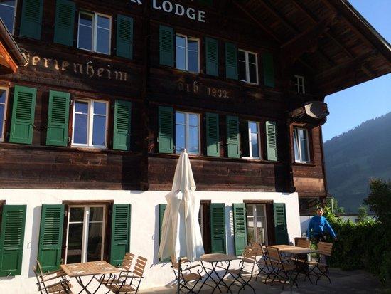 Lenk Lodge: von aussen