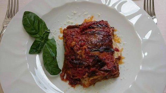 Trattoria Da Armandino: Eggplant Parmigana