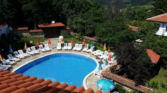 Palmira hotel: вид на бассейн