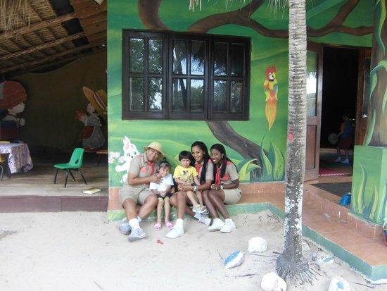 Dreams La Romana : Mis hijos en el Area del Explorer Club