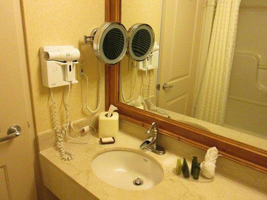 Hidden Valley Resort: Big washroom