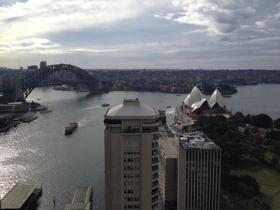 InterContinental Sydney: View from Intercontinental Club top floor