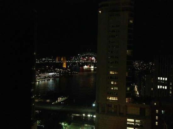 InterContinental Sydney: View at night