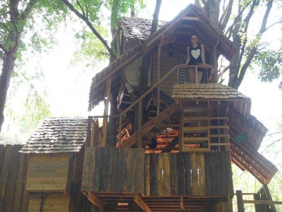 Rabeang Pasak Tree House Resort: Moon House
