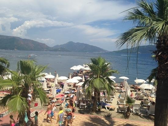 Emre Beach: view from room 2420