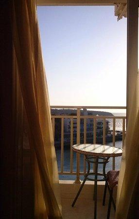 Sgouros Hotel : Vue plage