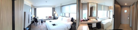 The Okura Prestige Bangkok: my fantastic corner room