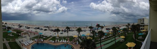 Perry's Ocean Edge Resort: Panoramic shot from our balcony