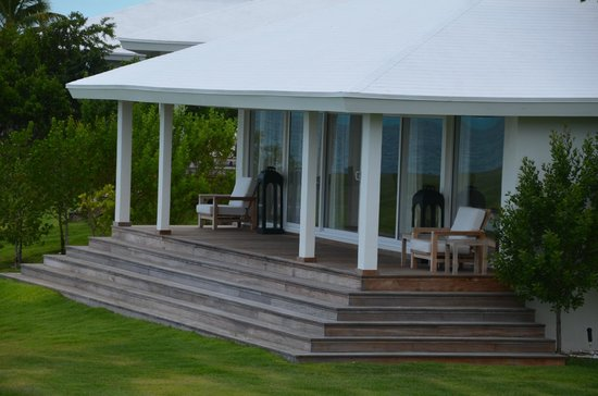 The Cove Eleuthera : the villa (3 bedroom with pool and kitchen, SOOO nice!!)