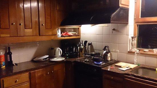 La Barraca Suites: Cocina