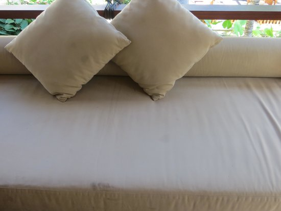 Qunci Villas Hotel: Tissus terrasse.