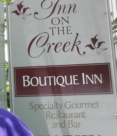 Inn on the Creek: Welcome