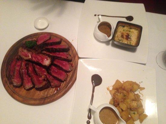 JP French Restaurant : Côte de boeuf
