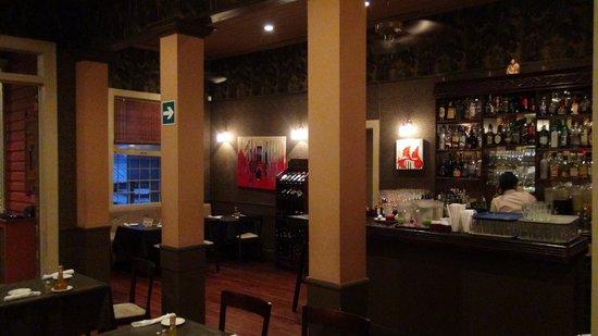 Inside Cafe Mundo