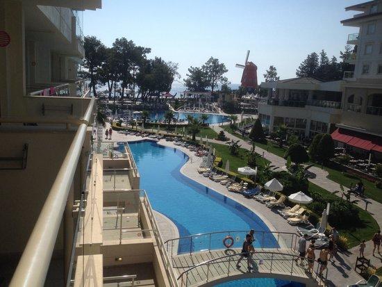 Barut Kemer : Pool view