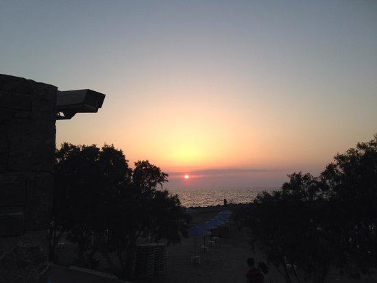 Beach Club Aphrodite : Beautiful sunset