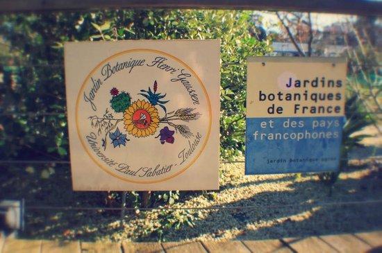 Musée d'histoire Naturelle : Вход в ботанический сад