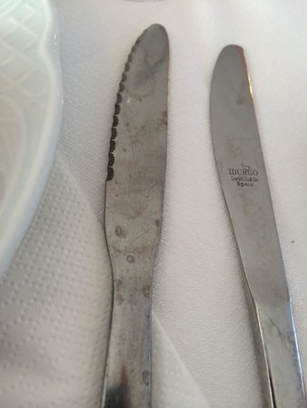 Hotel Don Bigote: Dirty cutlery was something that let the hotel down.