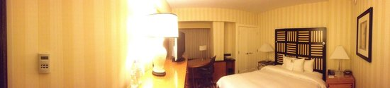 Renaissance Washington, DC Dupont Circle Hotel: Panorama of a 2nd floor room