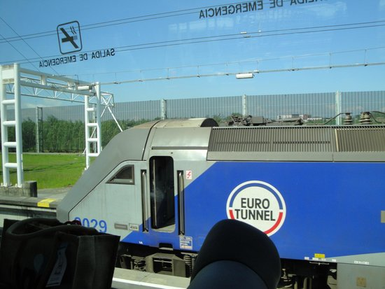 Eurotunnel Le Shuttle: Máquina del Tren de Eurotunel para cruzar el Canal de la Mancha