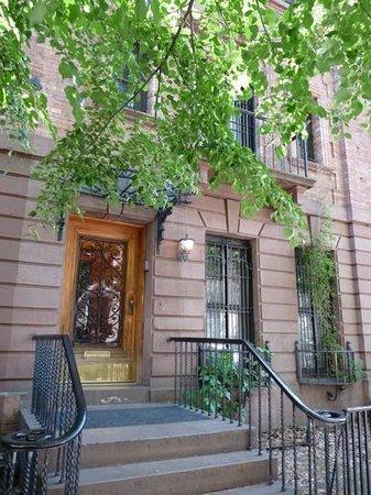 Harlem Renaissance House B&B: Porte d'entrée