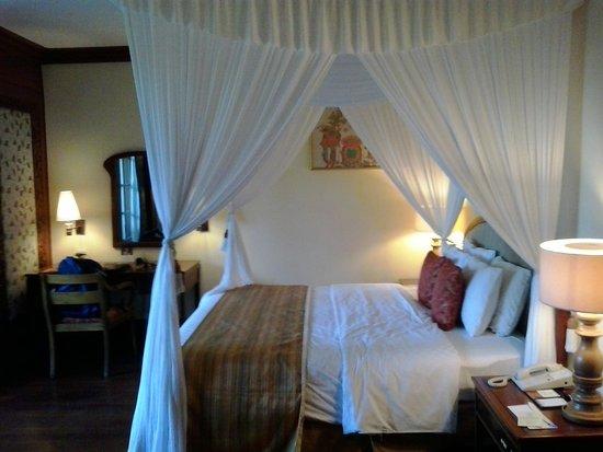 Ayodya Resort Bali: I think I was put in a honeymoon room