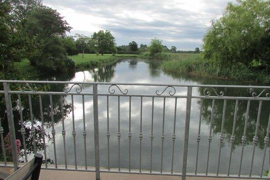 Le Moulin de Chalons : dalla terrazza