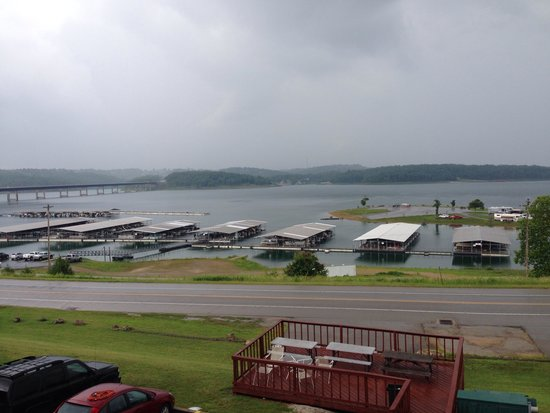 Lake Norfork Resort: View from front balcony