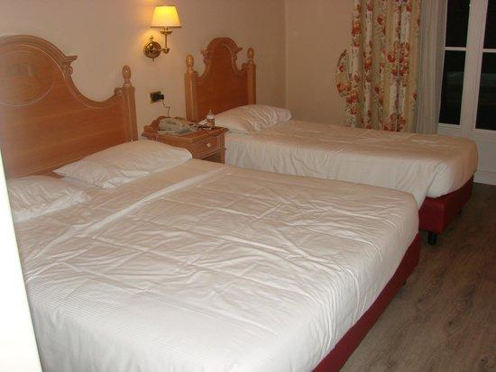 Gardaland Hotel : La camera