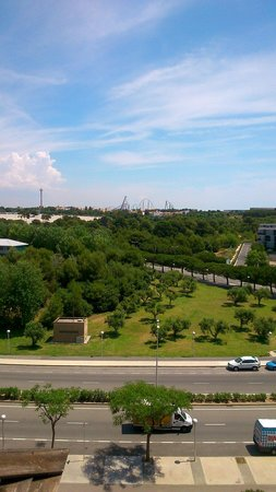 H10 Salauris Palace: View of theme park from hotel balcony