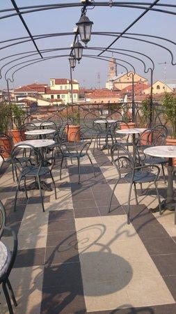 Hotel Firenze : terraza