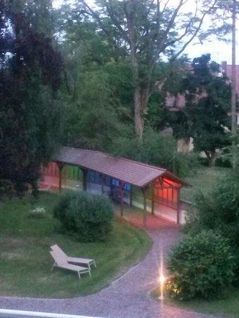 Kneippianum & Spa: Der Blick in den Garten