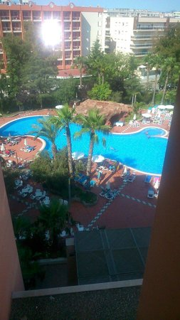 H10 Salauris Palace: Took from lift in hotel