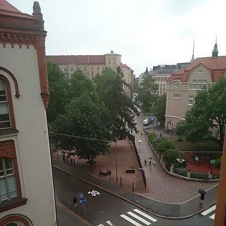 Anna Hotel: Вид из номера на 6-м этаже