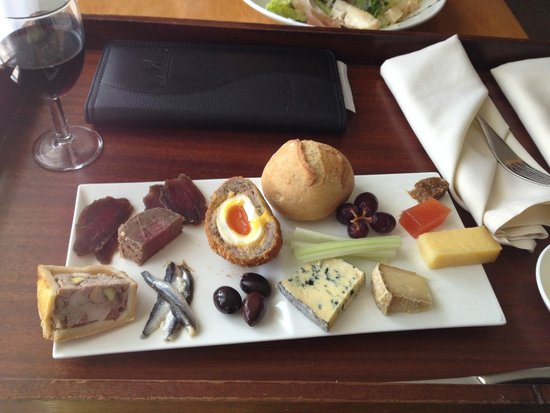 Thornton Hall Hotel & Spa: room service   cheese board