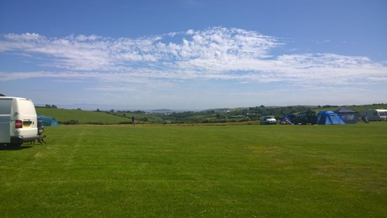 Tyn-Y-Mur Touring and Camping: stunning views