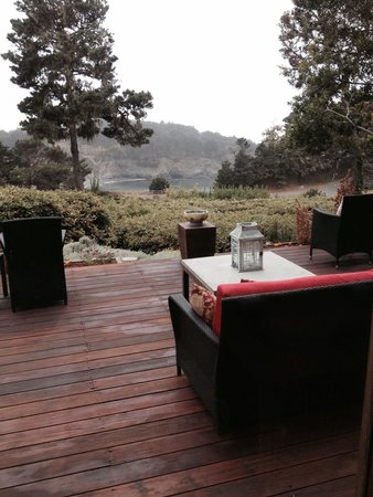 Brewery Gulch Inn: The view of smugglers cove Mendocino from the Brewery Gulf Inn.
