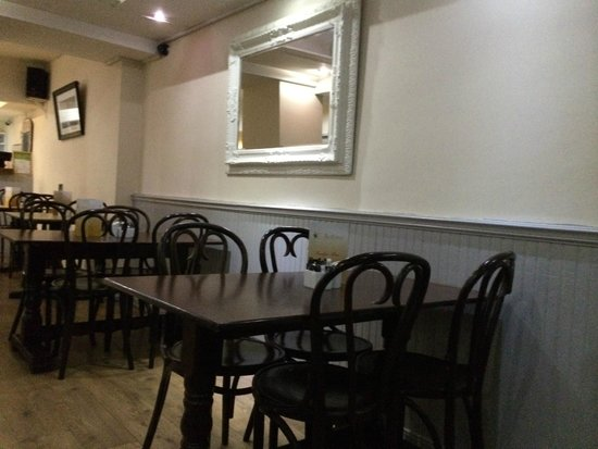 The Allotment Bistro Restaurant: Comfortable Bentwood Chairs