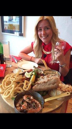 Traeth Bistro: Seafood Delight