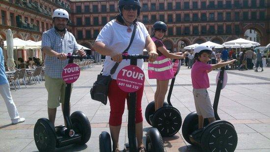 Cordoba Segway: Familia de Segovia visitando Cordoba