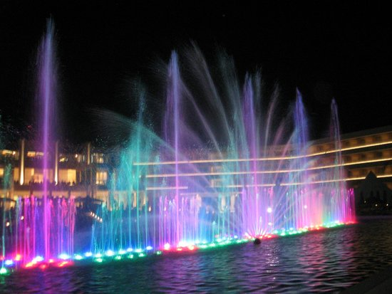 Princess Andriana Resort & Spa: Light Show